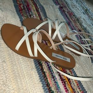 Steve Madden tie sandals